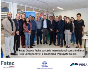 Parceria inovadora da Fatec com a Tata e a Pega System